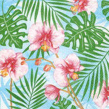 Paper+Design Servietten Tissue Tropical plants 33 x 33 cm 20er