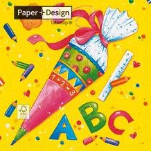 Paper+Design Tissue Servietten First day at school 33 x 33 cm 20 Stück