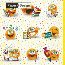 Paper+Design Tissue Servietten From A to Z 33 x 33 cm 20 Stück