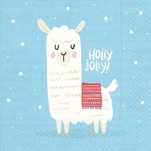 Paper+Design Tissue Servietten Holly Jolly 33 x 33 cm 20 Stück