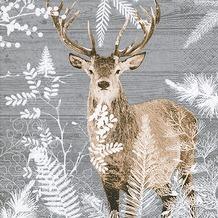 Paper+Design Tissue Servietten Imperial stag 33 x 33 cm 20 Stück