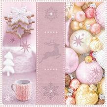 Paper+Design Tissue Servietten Lovely Xmas 33 x 33 cm 20 Stück