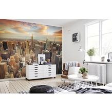 papermoon Fototapete 7 Bahnen, Digitaldruck Manhattan Midtown, Tapetenbahn 50cm, Spezial Tapetenpapier, BlueBack 350 x 260 cm