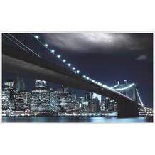papermoon INFRAROT BILDHEIZUNG 600W, 60X100cm, Brooklyn Brücke Infrarotheizung