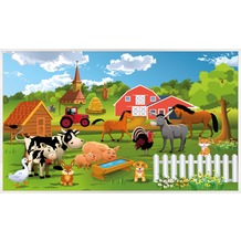 papermoon INFRAROT BILDHEIZUNG 600W, 60X100cm, Farm Kindermotiv Infrarotheizung