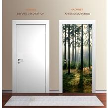 "papermoon Wand & Türdekor, Fototapete ""Tür"", Spezial Tapetenpapier, Toscana 90 x 200cm"