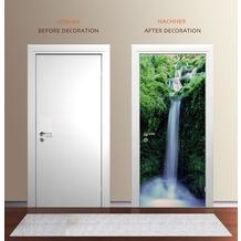 "papermoon Wand & Türdekor, Fototapete ""Tür"", Spezial Tapetenpapier, Zaragoza Falls 90 x 200cm"