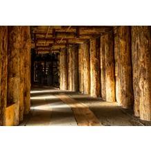 papermoon Fototapete Wieliczka Salt Mine 7 Bahnen 350 x 260 cm Vlies
