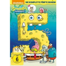 Paramount SpongeBob Schwammkopf - Die komplette Season 5 [DVD]