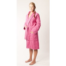 Pastunette Bademantel mit Sjaalkragen Hot pink L