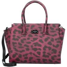 Pauls Boutique Bethany Handtasche 32 cm raspberry leopard