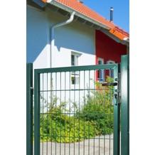 Peddy Shield Gartentor für Doppelstabmatte grün (RAL 6005) - einflügelig - 100 cm