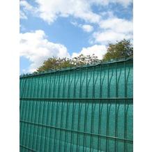Peddy Shield Sichtschutz HDPE, grün, incl. Kordel, 80 cm x 500 cm Länge