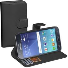 Pedea BookCover Classic für Samsung Galaxy J7, schwarz