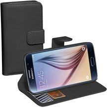 Pedea BookCover Classic für Samsung Galaxy S6, schwarz