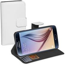 Pedea BookCover Classic für Samsung Galaxy S6, weiß