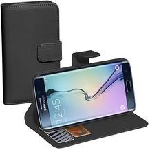 Pedea BookCover Classic Samsung Galaxy S6 Edge, schwarz
