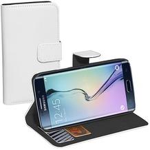 Pedea BookCover Classic Samsung Galaxy S6 Edge, weiß