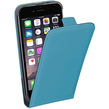 Pedea Flipcase Classic für Apple iPhone 6/6S, cyan