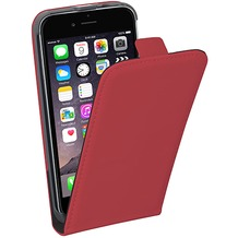 Pedea Flipcase Classic für Apple iPhone 6/6S, rot