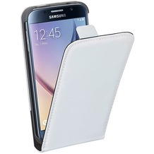 Pedea FlipCover Classic für Samsung Galaxy S6, weiß