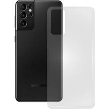 Pedea Soft TPU Case für Samsung Galaxy S21 Ultra, transparent