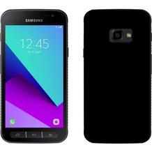 Pedea Soft TPU Case (glatt) f. Samsung Galaxy Xcover 4 Schwarz