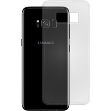 Pedea Soft TPU Case (glatt) für Galaxy S8, Transparent