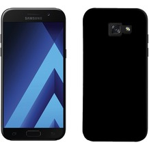Pedea Soft TPU Case (glatt) für Samsung Galaxy A5 2017 - Schwarz