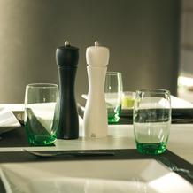 Peugeot Salz- und Pfeffermühle TAHITI DUO matt schwarz-weiß 15cm