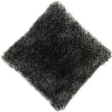 Peyer Syntex Kissen Sorella gefüllt schwarz 45 cm x 45 cm