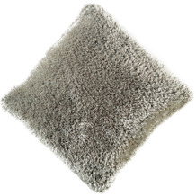 Peyer Syntex Kissen Sorella gefüllt silber 45 cm x 45 cm