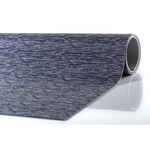 Peyer Syntex Teppich Mira Jacquard uni melange blau 60 cm x 110 cm