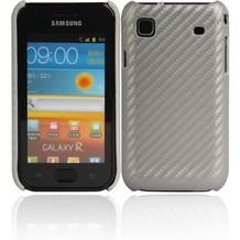 Twins Carbon für Samsung i9000 Galaxy S, silber