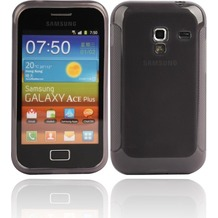 Twins Bright für Samsung S7500 Galaxy Ace Plus, grau-transparent