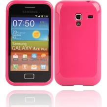 Twins Bright für Samsung S7500 Galaxy Ace Plus, pink