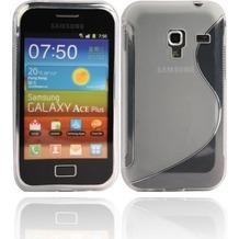 Twins Fancy Bright für Samsung S7500 Galaxy Ace Plus, transparent