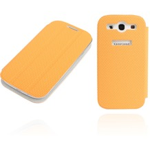 Twins Slim BookFlip für Samsung Galaxy S3, orange
