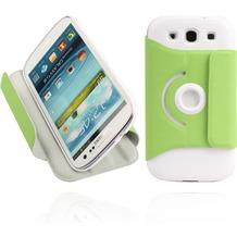Twins Folio Stand 360 für Samsung Galaxy S3, grün