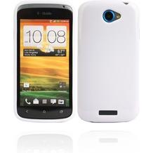 Twins Bright für HTC One S, weiß