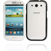 Twins 2Color Bumper für Samsung Galaxy S3, weiß-schwarz