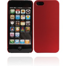 Twins Shield Matte für iPhone 5/5S/SE, rot