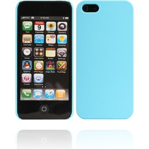 Twins Shield Mesh für iPhone 5/5S/SE, hellblau