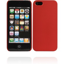Twins Shield Mesh für iPhone 5/5S/SE, rot