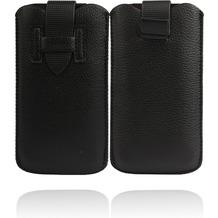 Twins Flap Pouch für iPhone 5/5S/SE, schwarz