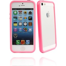 Twins Color Bumper für iPhone 5/5S/SE, pink