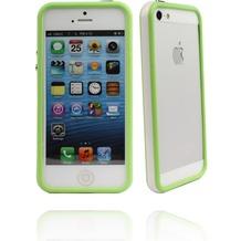 Twins 2Color Bumper für iPhone 5/5S/SE, weiß-grün