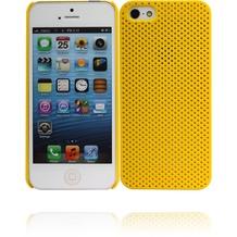 Twins Perforated für iPhone 5/5S/SE, gelb