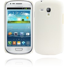 Twins Shield Leather für Samsung Galaxy S3 mini, weiß