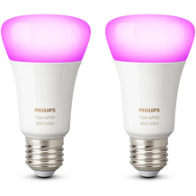 Philips Hue White and Color Ambiance E27 Doppelpack Bluetooth/Zigbee